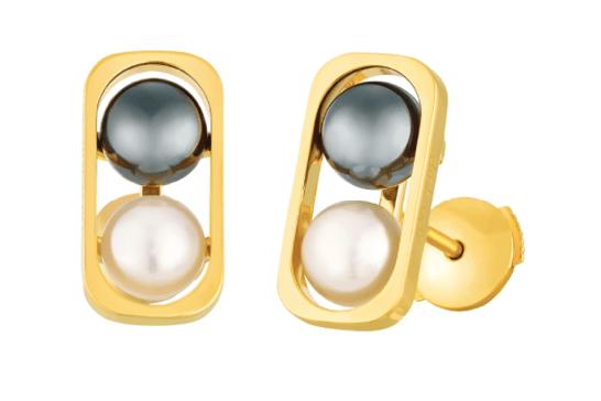 Puces d'oreilles 2 Perles