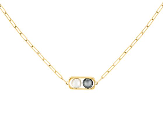 Collier 2 Perles petit modèle