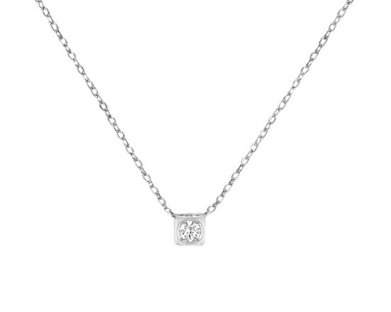 Collier Le Cube Diamant petit modèle